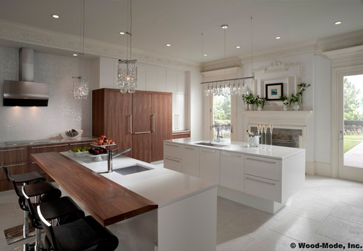 New Wood Mode Kitchen Cabinets